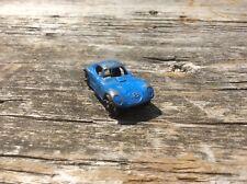 Vintage Blue No 18 Race Sports Car , Metal Toy