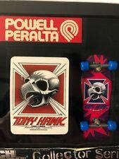 powell peralta tony hawk tech deck skateboard vintage SkateBoard collectable Os