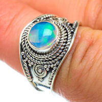 Ethiopian Opal 925 Sterling Silver Ring Size 7 Ana Co Jewelry R47429F