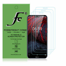 Nokia 6.1 Plus Hydrogel Screen Protector [3 PACK] Guard Cover Film HD Clear Thin