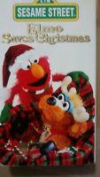 Sesame Street - Elmo Saves Christmas (VHS Tape, 1996)  nice