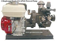 3 Diaphragm Gas Powered Pump Honda Gx 65 Hp Engine
