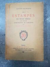 LES ESTAMPES DU XVIII SIECLE GUIDE MANUEL DE L'AMATEUR AUTOGRAFO BOURCARD