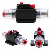 20A-100A AMP Circuit Breaker Car Marine Stereo Audio Inline Replace Fuse 12V-24V