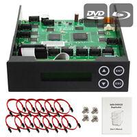 1-9-10-11 Blu-ray CD/DVD/BD SATA Burner Duplicator Copier CONTROLLER +Cbl & Scrw