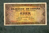 BILLETE 100  PESETAS 1938  SERIE C6895047 MBC +