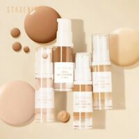 Face Base Foundation Makeup Waterproof Long-lasting Oil-control Full Coverage