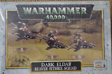 WARHAMMER 40K, 40000, DARK ELDAR REAVER JETBIKE IN SEALED BOX OOP