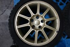 JDM Subaru STi Limited Enkei Wheels 17x8 +53 Offset 5x114.3 with Tires