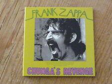 Frank Zappa:Chunga's Revenge Promo Sleeve Only(Japan Mini-LP mothers invention Q