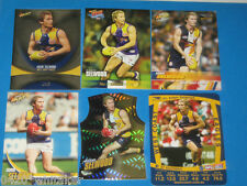 2011 Select AFL Champions WEST COAST EAGLES Silver Parallel A.Selwood +extras