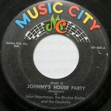 JOHN HEARTSMAN, RHYTHM ROCKER, GAYLARKS 45 Johnny's House Party ORIGINAL #BB1931