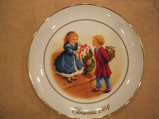 """Celebrating the Joy of Giving"" Collector Plate~Avon 4th Edition 1984~ Look!"