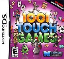 1001 Touch Games Nintendo DS Pinball Suduko BLACKJACK Minigolf Wahnsinn NEU