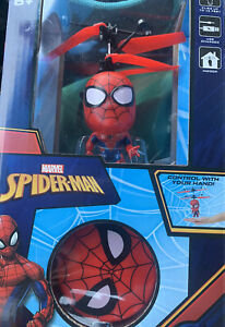 Marvel Spider-Man flying character ufo helicopter