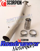 Scorpion Fiesta ST150 Decat Pipe Stainless Exhaust - Removes OE Catalyst SFDC068