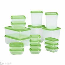 Keimav Quality Container Plasticware Foodsaver (Green) 17 piece set