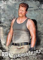 Walking Dead Road To Alexandria CHARACTER Insert Card C-14 / ABRAHAM FORD