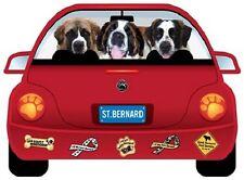 St. Bernard-Pupmobile Magnet