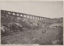 c.1880's PHOTO  - SPAIN TARRAGONA ACUCDUCTO ROMANO DE LAS FERRERAS LAURENT
