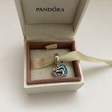 Pandora Silver Disney Lady And The Tramp Heart Dangle Charm Ale S925