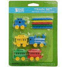 Train Holders & Candle Set Birthday Party
