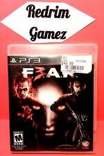 F.E.A.R 3 PS3 Video Games