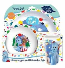 Official Licensed Product in The Night Garden 3pc Dinner Set Bowl Plate Mug Cup