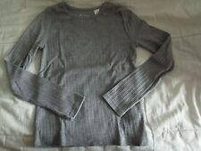 Tee-shirt Uni Gris,ML,T8ans,marque Okaidi,en TBE