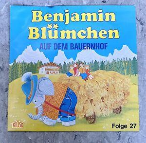 Benjamin Blümchen auf dem Bauernhof Folge 27 Hörspiel Schallplatte LP