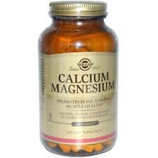 Calcio Magnesio, 250 Tabletas-Solgar