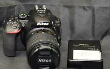 Nikon D5600 Digital SLR Camera Black Body with 18-55mm DX VR Lens
