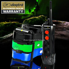 Dogtra EDGE RT Expandable 3-Dog Remote Trainer BLUE GREEN BLACK Training Collar