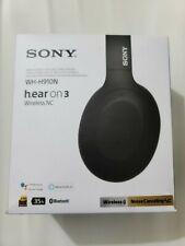 Sony Wh-H910N h.ear on 3 Wireless Bluetooth Noise-Canceling Headphones - Black