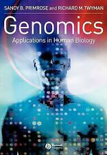 Genomics Applications in Human Biology, Very Good Condition Book, Primrose, Sand