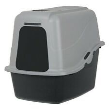 Self Cleaning Pet Cat Litter Box Large Roll'n Kitty Pewter Scoop Kitten New