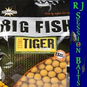 Dynamite Baits Sweet Tiger & Corn 15mm Session Pack of 25 Boilies