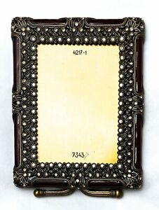 BEREBI LIMITED EDITION CRYSTAL GOLD PLATED AUTHENTIC SIGNED FRAME