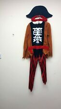 BOYS PIRATE HALLOWEEN OUTFIT COSTUME - BRAND NEW WITH TAGS - FREE P+P