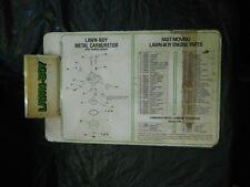 Vintage Used Lawn-Boy Mower Clipboard with Carb / Fast Moving Parts Pictures etc