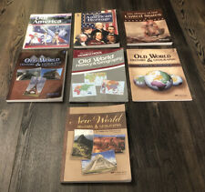 A Beka Our America American Heritage Old World History Geography - 9 Book Set