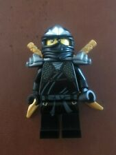 Lego Ninjago COLE ZX Black Ninja 30087 minifigure Genuine