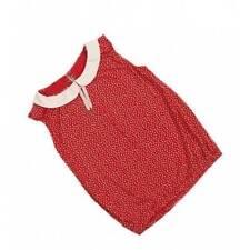 Girls' Collared Sleeveless 100% Cotton T-Shirts & Tops (2-16 Years)