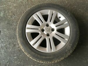 VAUXHALL ASTRA H MK5 GENUINE ALLOY WHEEL WITH TYRE 215/55 R16