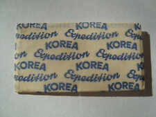 KOREA EXPEDITION VERY RARE OLD RAZOR BLADE WRAPPER/ LAMETTA / RASIERKLINGE/ LAM