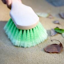 "Soft Bristle Car Wash Brush 9"" Handle 2"" Bristle Auto Detailing Cleaning Scrub"
