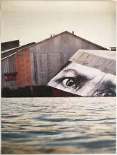 JR Viva La Revolution print poster paster French photographer MOCA San Diego eye