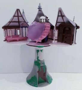 Disney Store Tangled Rapunzel Tower Playset no figues