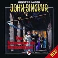 JOHN SINCLAIR: FOLGE 19 - DER SENSENMANN ALS HOCHZEITSGAST  CD NEW