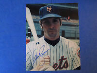 DAVE KINGMAN SIGNED 8x10 PHOTO ~ NY METS HOME RUN HITTER ~
